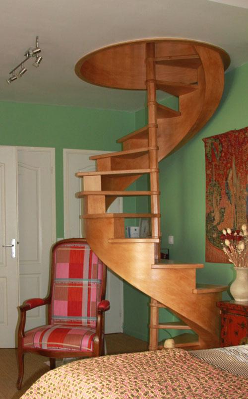 Escalier installé