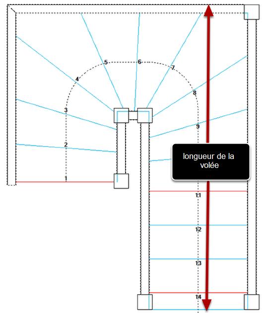 concevoir la marche pali re d 39 un escalier. Black Bedroom Furniture Sets. Home Design Ideas