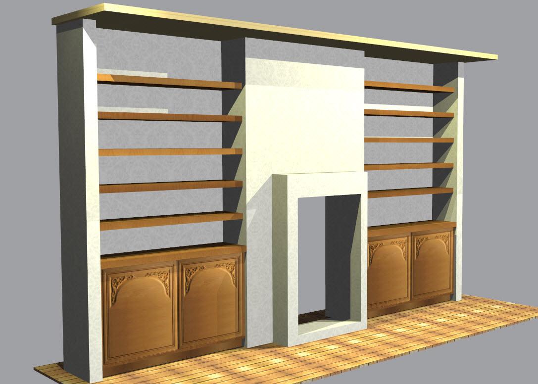 aménager une alcôve avec polyboard | meuble designer