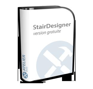 logiciel dessin escalier