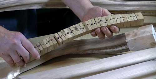 fabriquer main courante bois