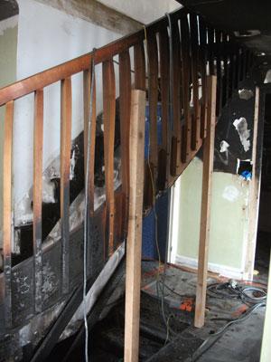 escalier à remplacer