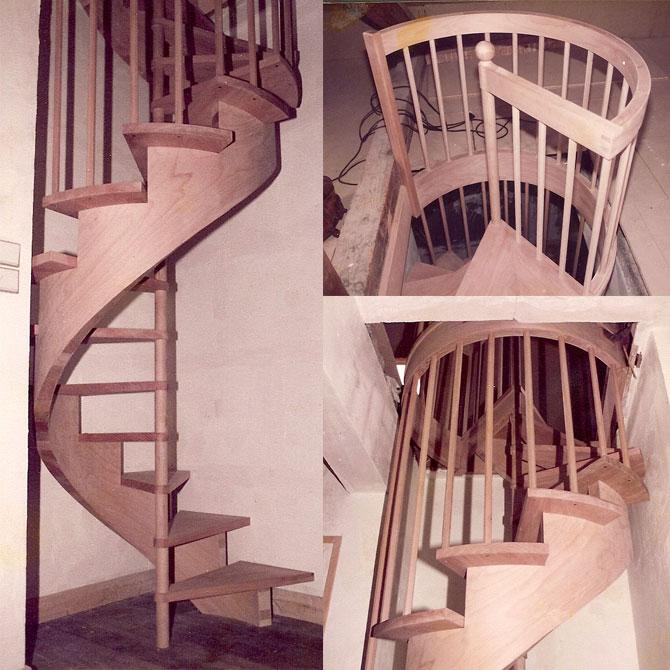 Fabriquer un Escalier en Colimaçon
