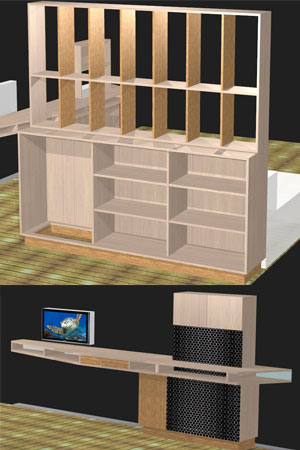 bibliotheque polyboard