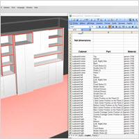Polyboard Liste de débit en tableau Excel
