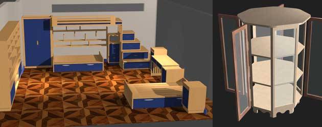 gamme de meubles spécialisés sur mesure