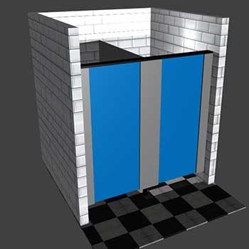 logiciel séparations pour douches et toilettes