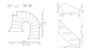 Plans de StairDesigner avec gestion de forme complexe