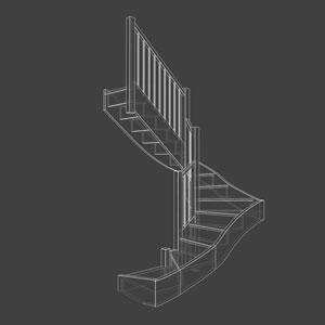 Logiciel Escalier 3D