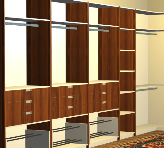 Cabinets designed with Polyboard