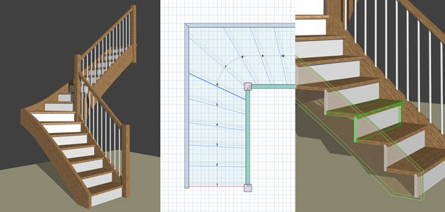 logiciel calcul escalier