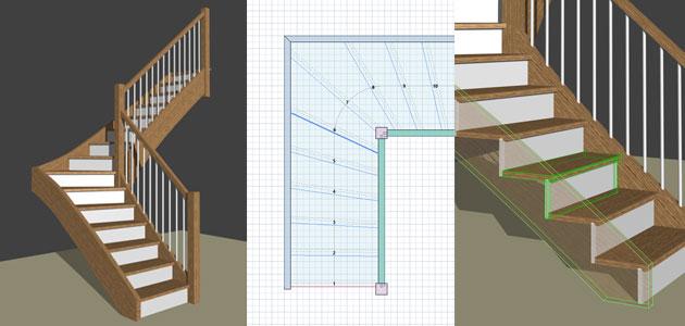 logiciel menuiserie 3d meubles et escaliers atelier bois. Black Bedroom Furniture Sets. Home Design Ideas