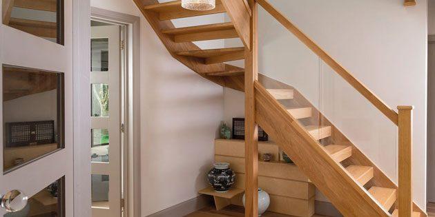 Mesurer une cage d'escalier