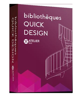 Bibliothèques Quick Design pour StairDesigner