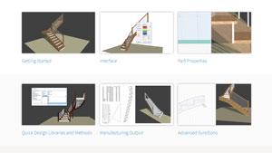 link to all stairdesigner videos