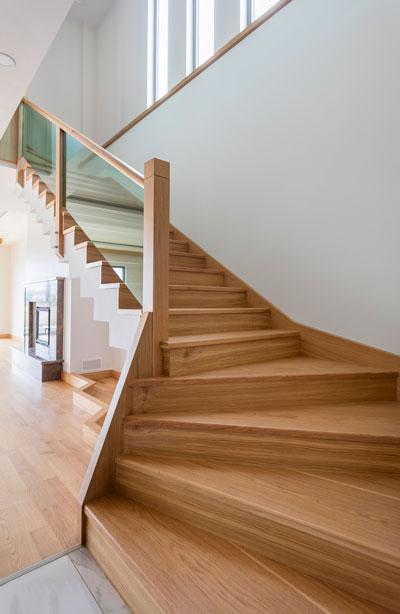 conception d'escalier avec le service stairpack