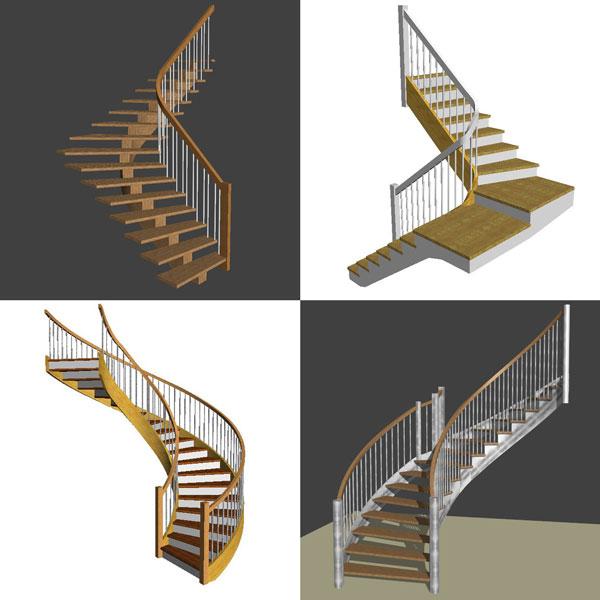 service de conception d'escalier