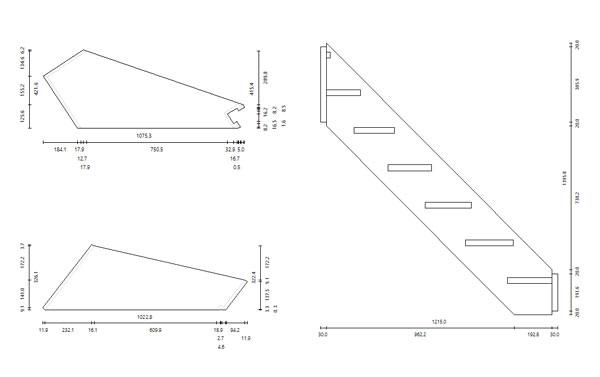 plans 2d stair designer