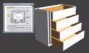 tiroirs logiciel creation meuble