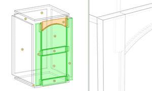 assemblage panneau logiciel de meuble polyboard