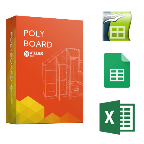 polyboard  excel etc